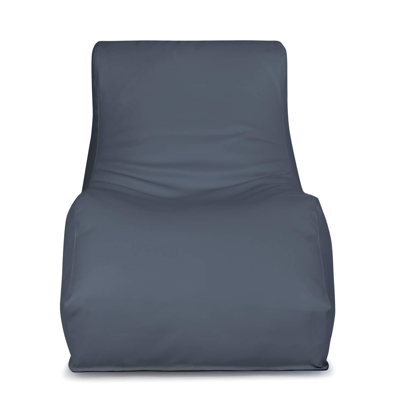 outbag outdoor sitzsack liegesack wave bezug skin grau a684c