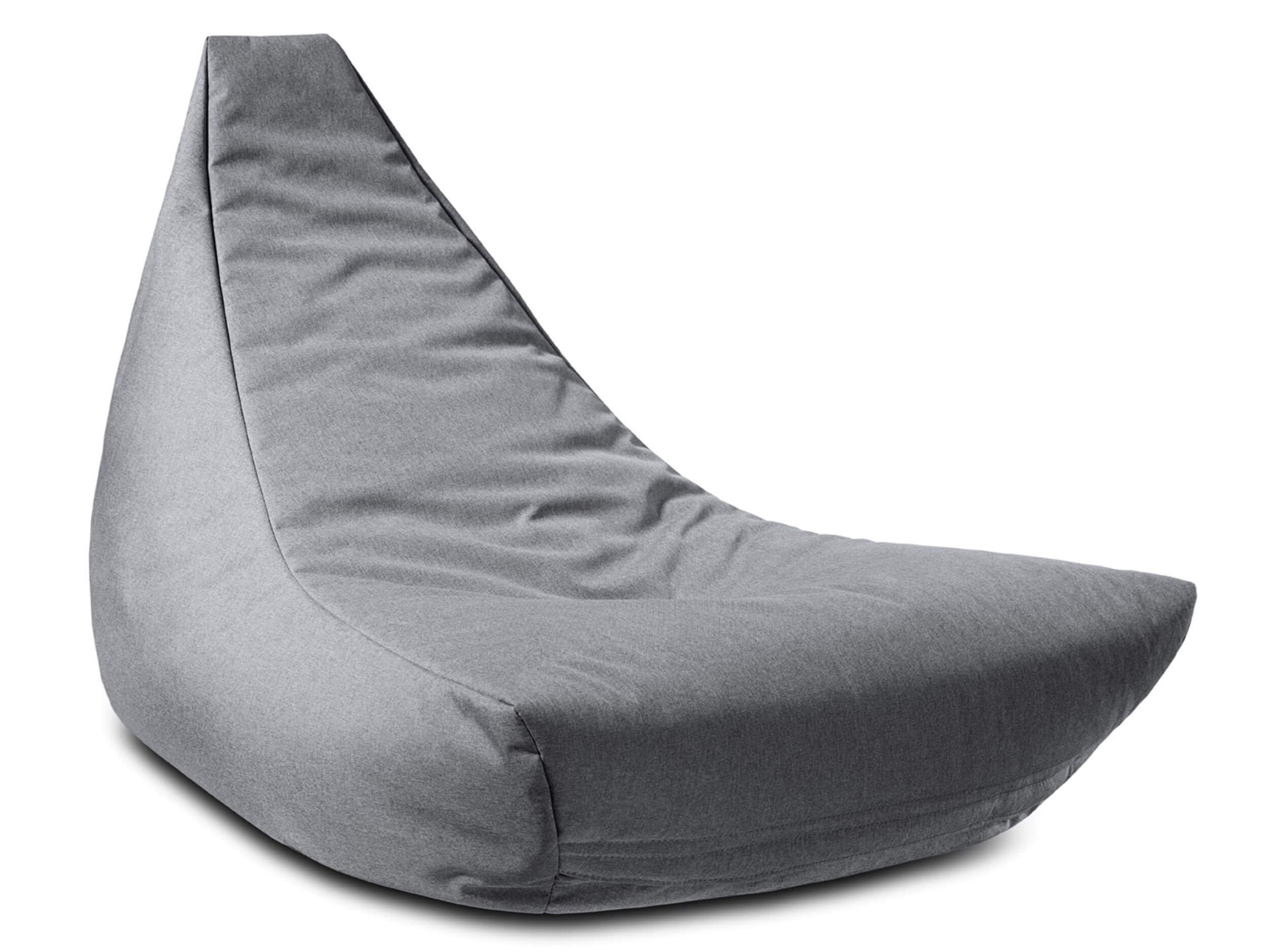 ikoonz sitzsack chiller lounge grey