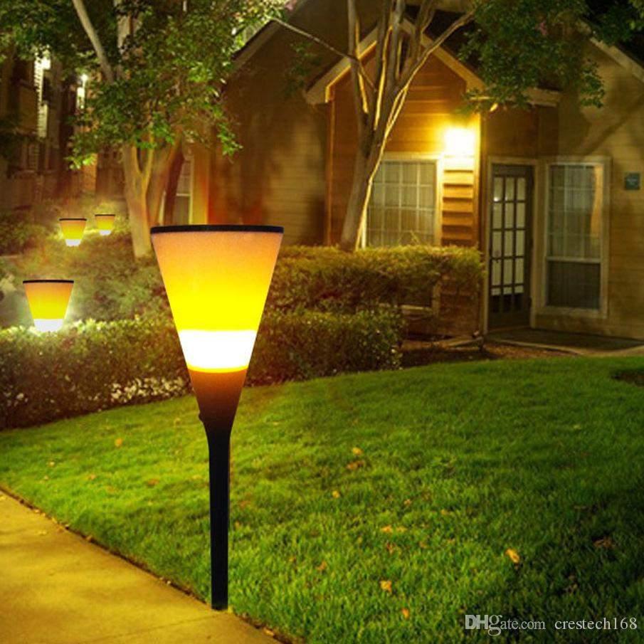 Solar Laterne Garten Luxus Bier Cup form Im Freien solar Led atmosphäre Lampe Im Freien solar Led Leuchten Auto Aufladung In Der Tageszeit Beleuchtung In Nacht Feuer Lichter