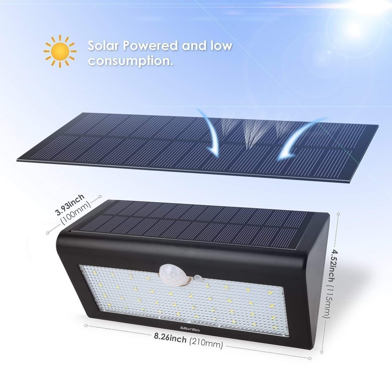 01 Albrillo LED Solarleuchte info