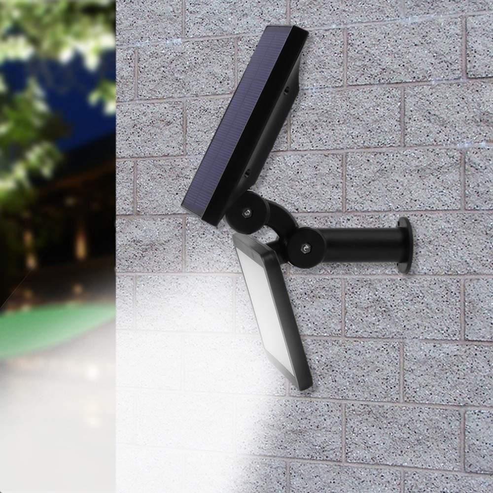 48 LEDs Super Helle Outdoor Solar Licht LED Rasen Lampe Wasserdichte Led strahler Garten Stra e