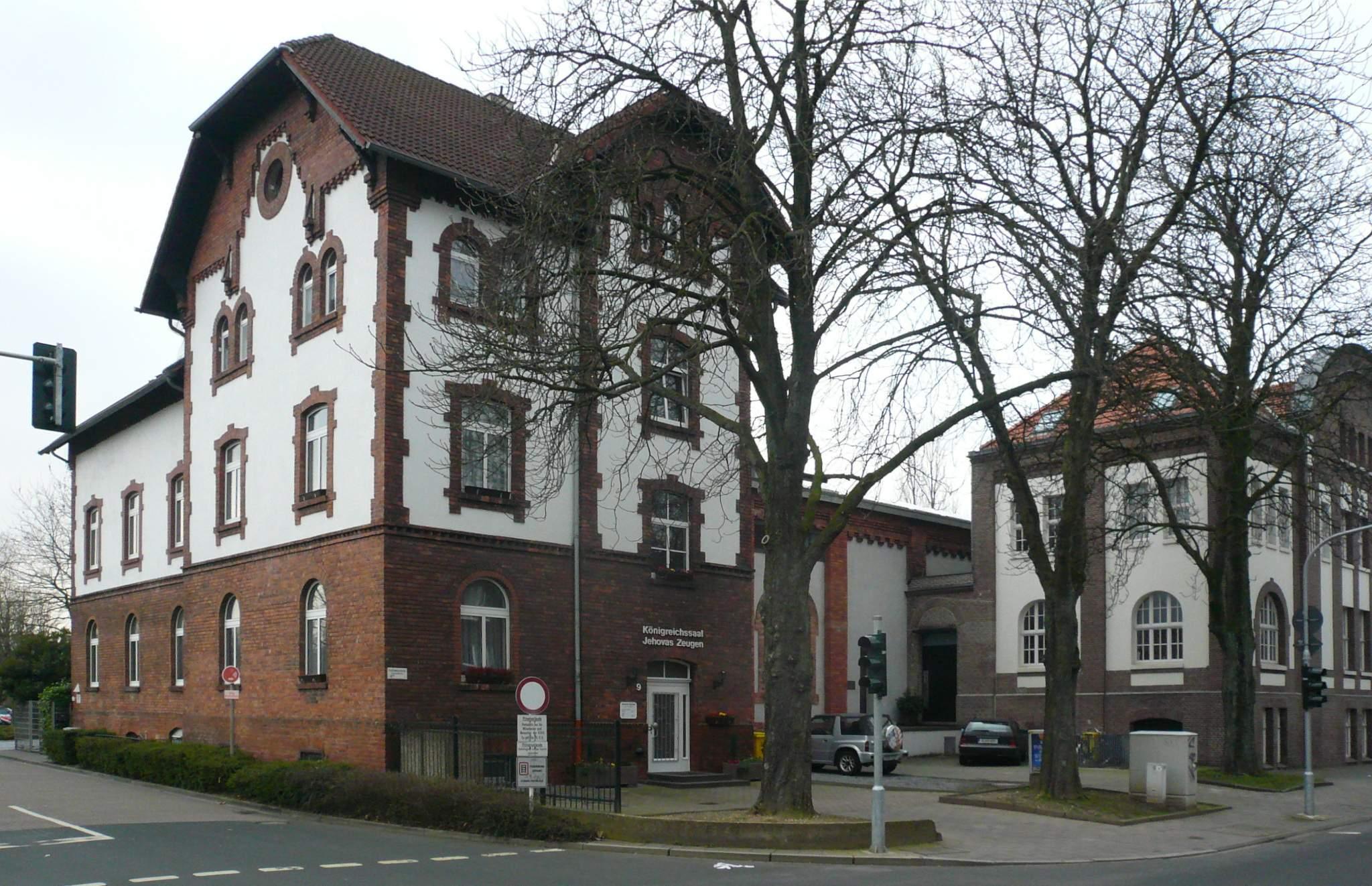Königreichsaal Zeugen Jehovas Düsseldorf Oberkassel JPG