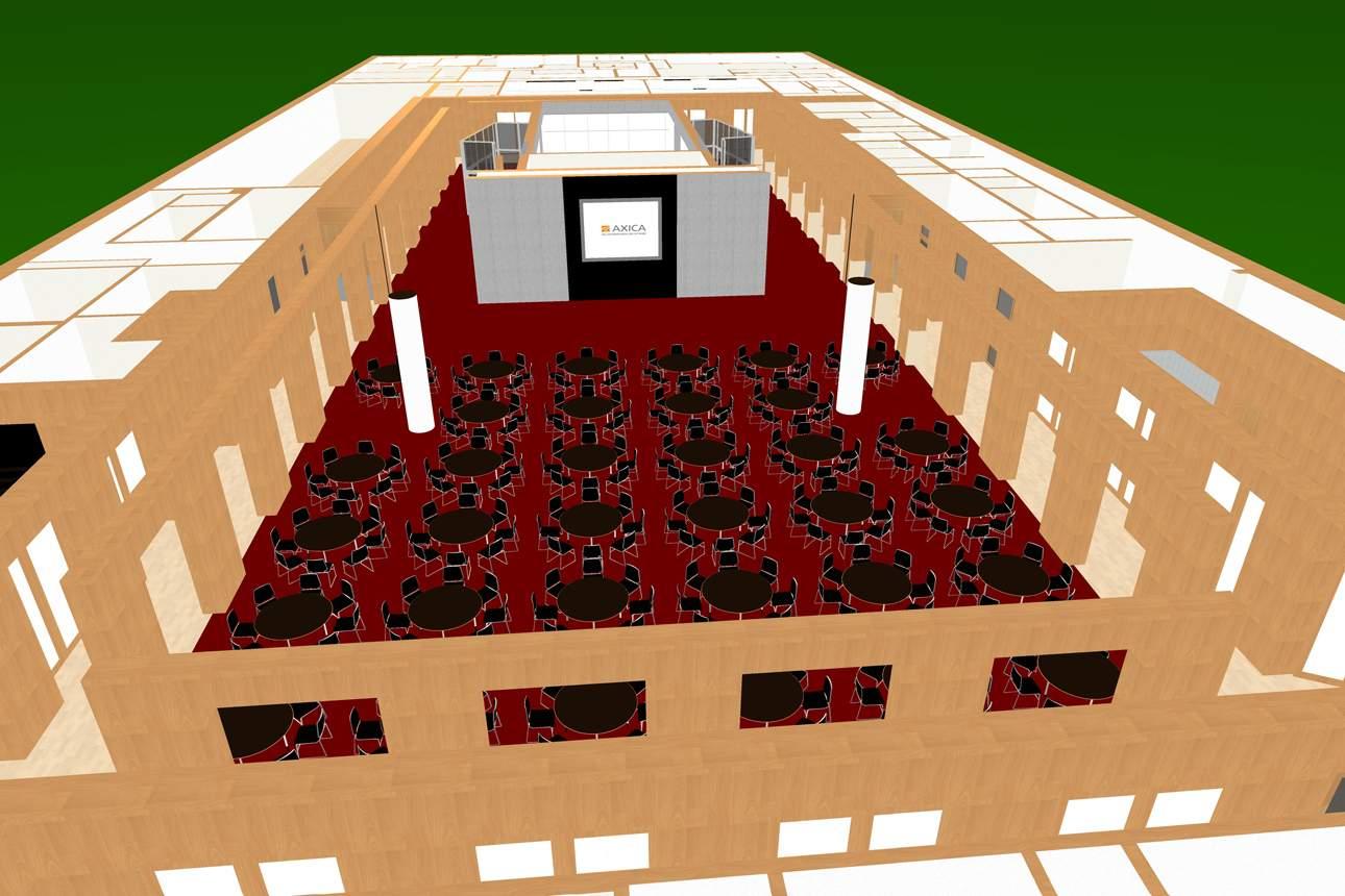 AXICA 3D Visualisierung Gala