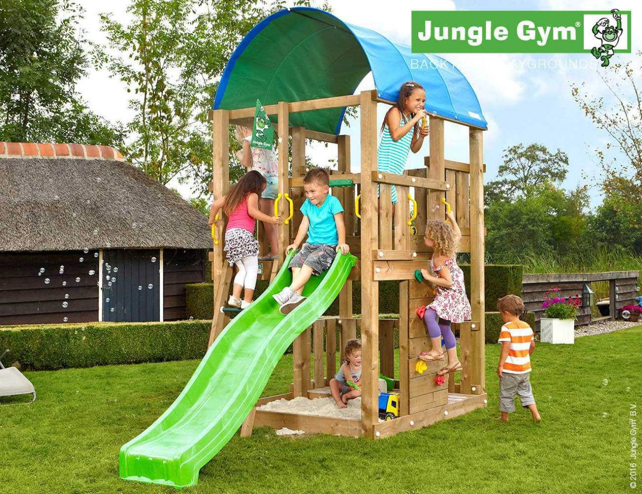 climbing frame with slide jungle farm greenc377l5iTLZyST 1280x1280
