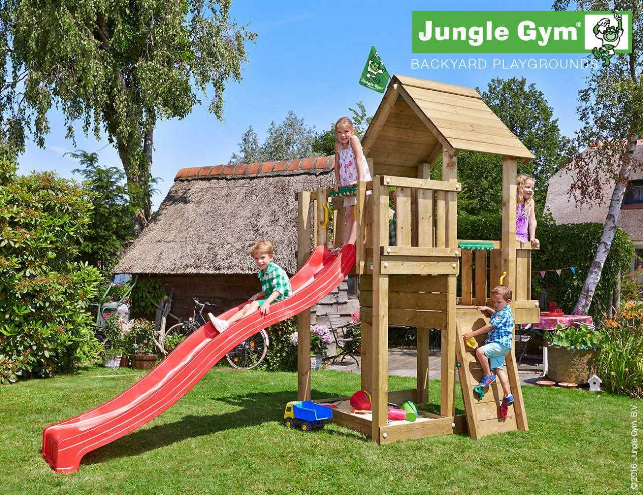 climbing frame and slide jungle cubby red 1280x1280