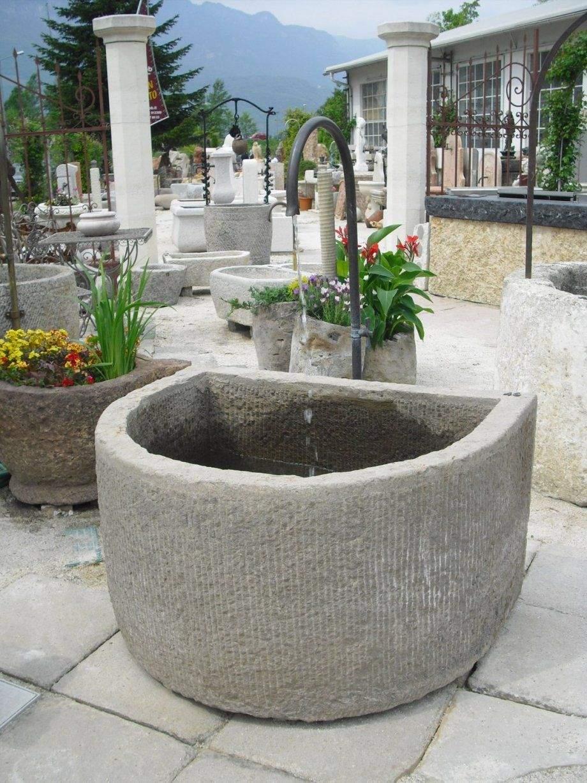 Springbrunnen Garten Selber Bauen Neu Antiker Brunnen Aus Naturstein
