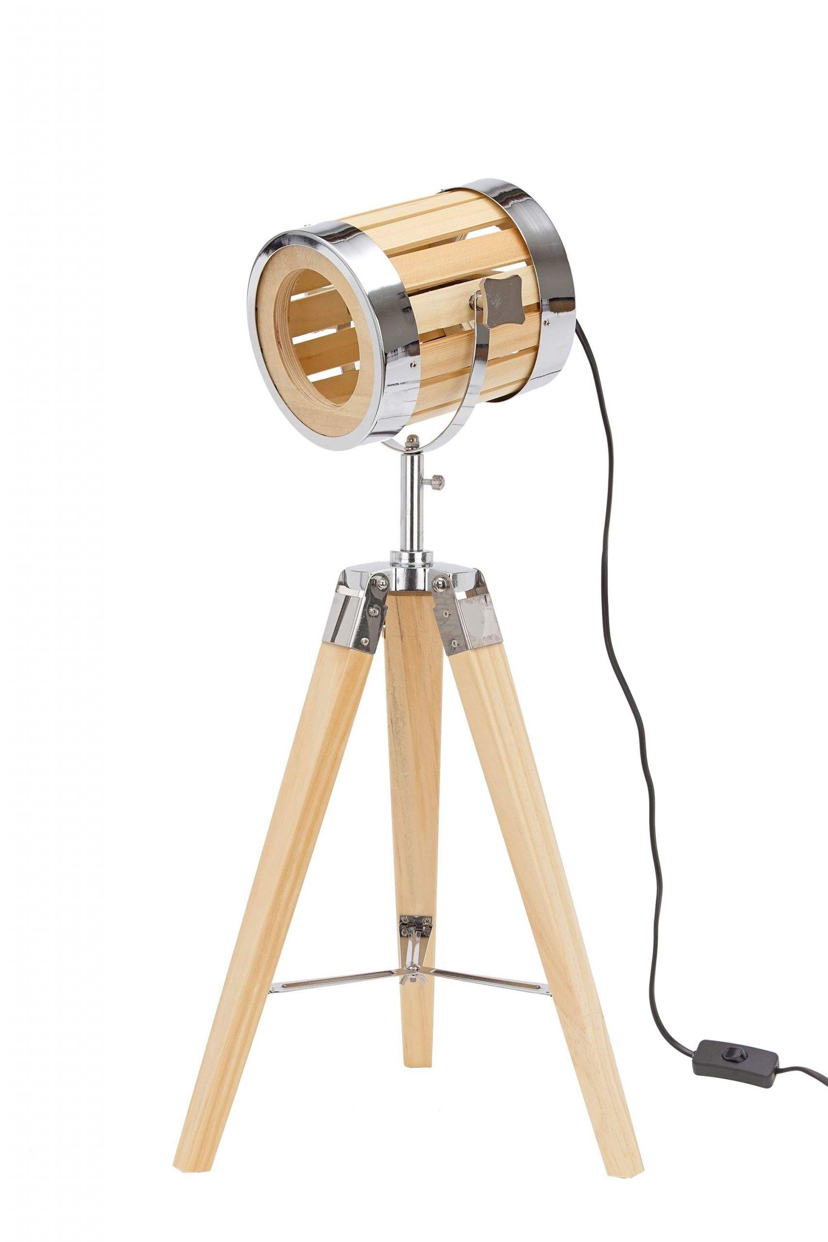 Stehleuchte Garten Das Beste Von Stehlampe Aus Holz Stativbeine Aus Holz Industrial Design 65 Cm Hoch
