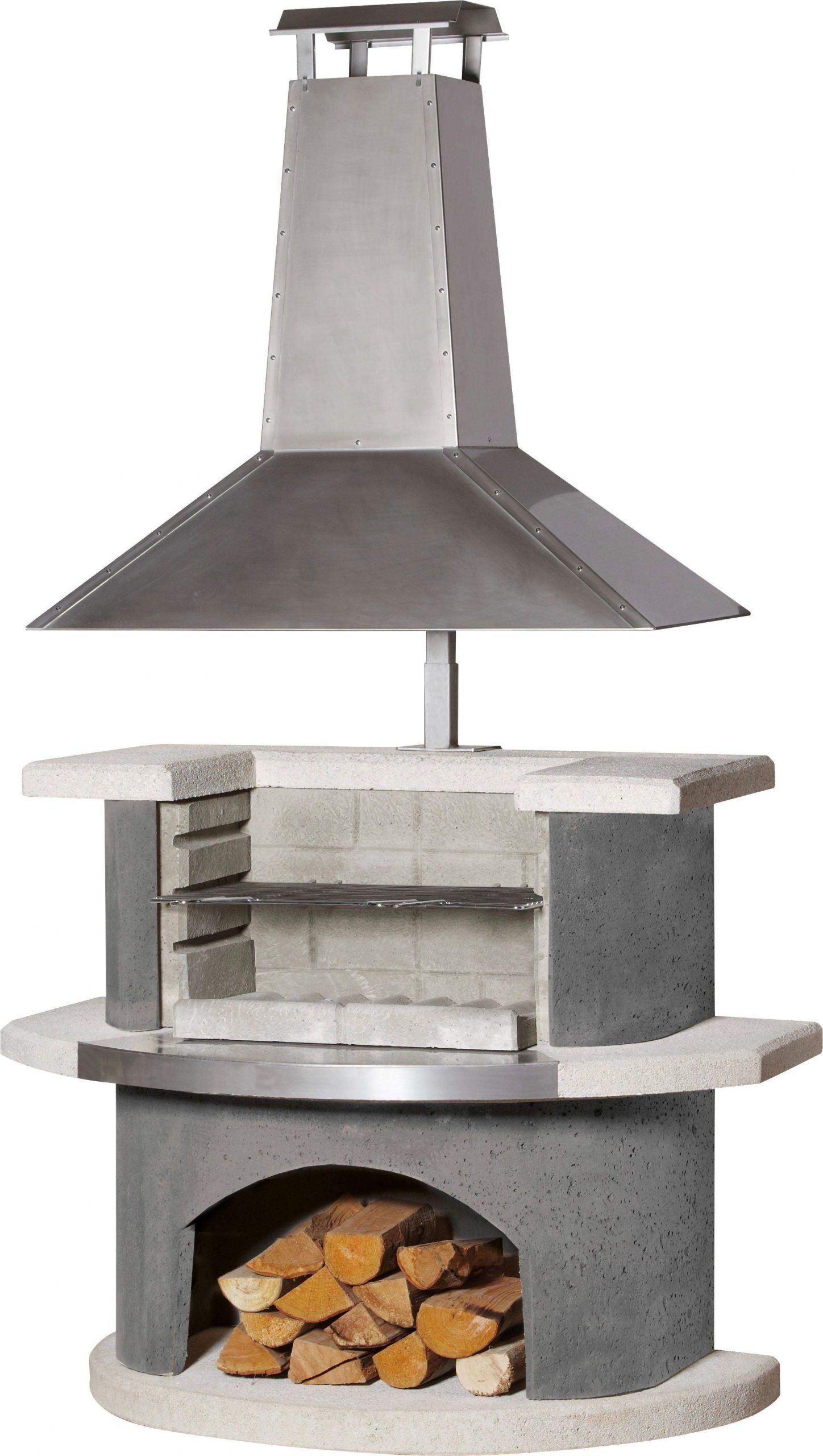 buschbeck grillkamin zuerich b t h 110 65 210 cm