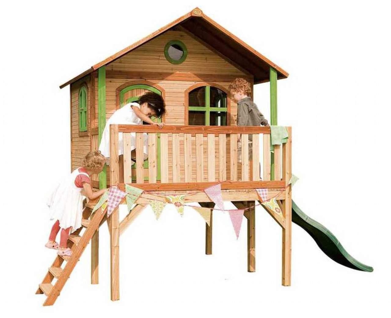 Stelzenhaus Garten Inspirierend Kinder Stelzenhaus Axi sophie Rutsche 1 75 M