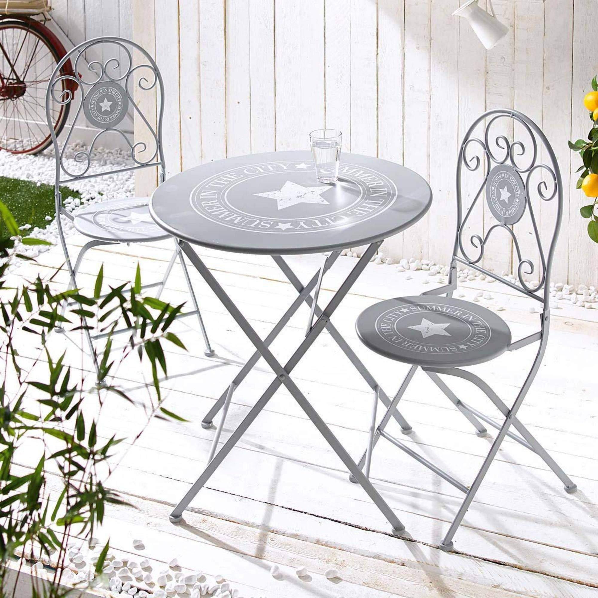 terrassen tisch und stuehle beste balkonmoebel metall gartenst c3 bchle und tisch im garten von genial