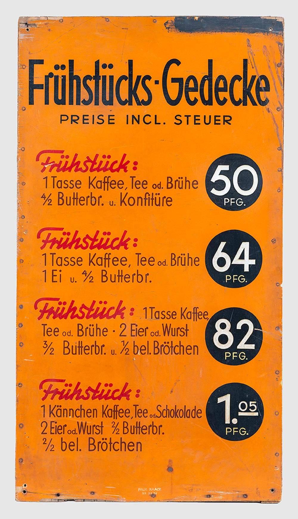 werbeaufsteller cafe regensburg berlin
