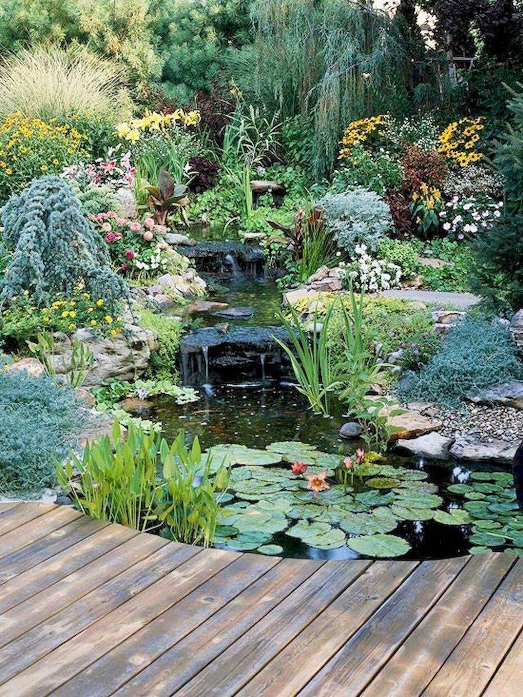 Teich Und Garten Das Beste Von Marvelous Backyard Ponds and Water Garden Landscaping Ideas