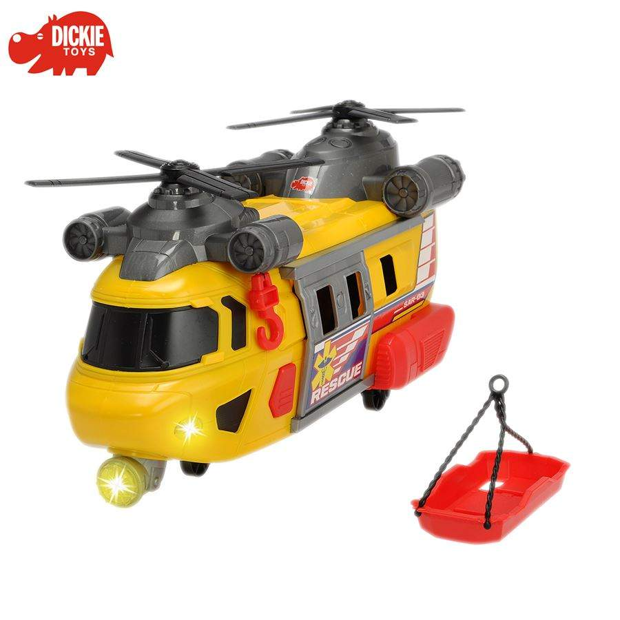 dickie toys rettungshubschrauber rescue helicopter