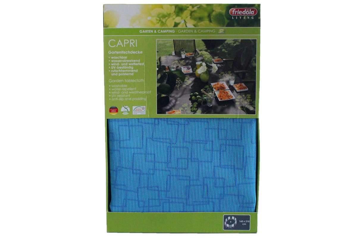gartentischdecke capri 160x210 cm oval wetterfest aqua blau friedola 1280x1280