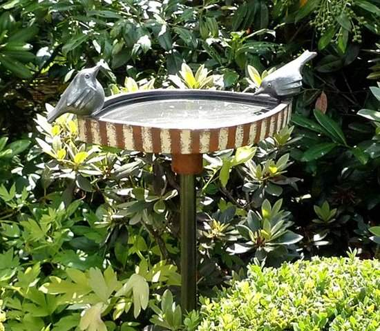 Vogeltränken Für Den Garten Einzigartig Vogeltränke Margit Hohenberger