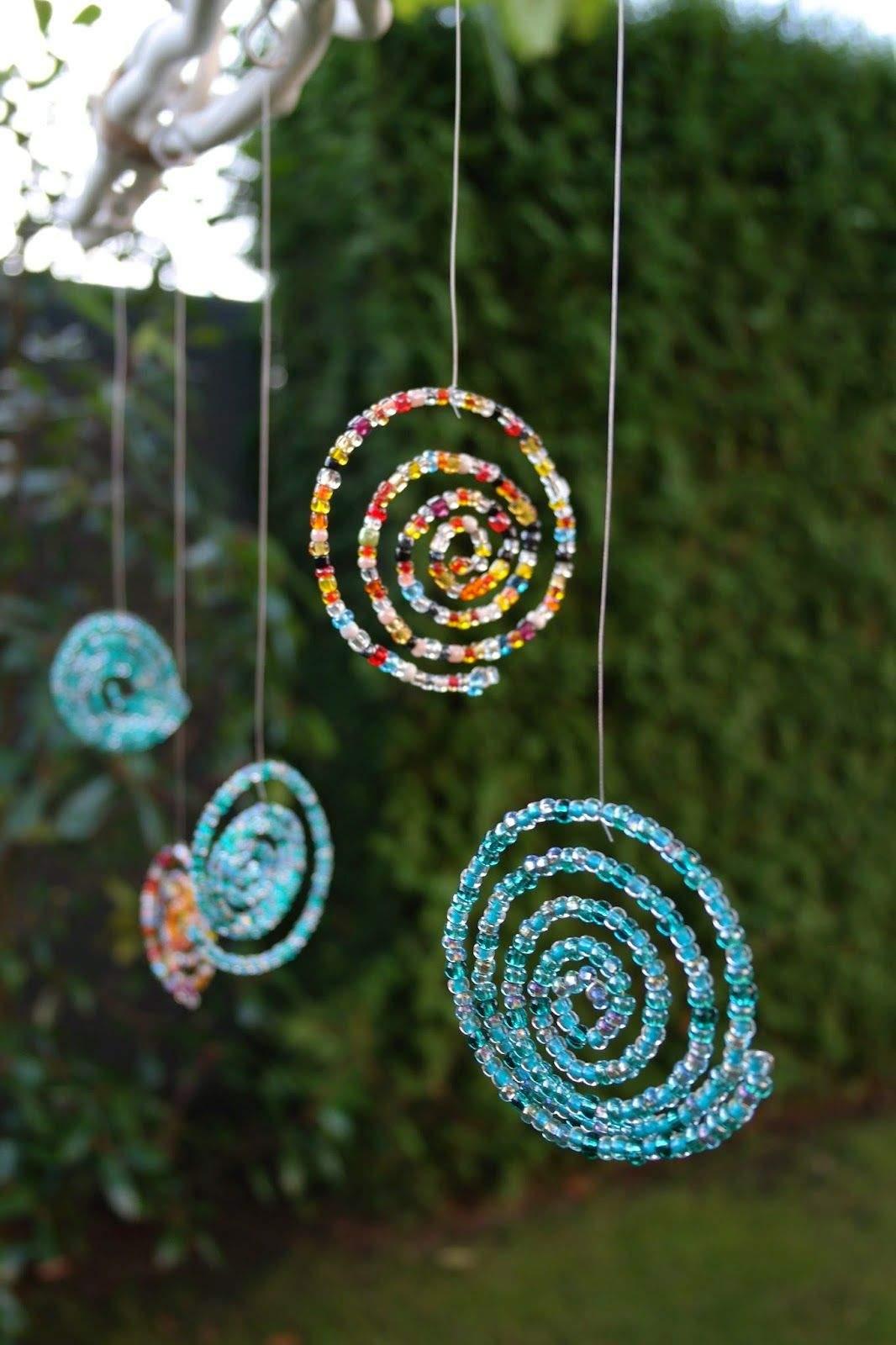 Vogeltränken Für Den Garten Elegant Windspiel Mit Perlen Für Den Garten Diy Tutorial