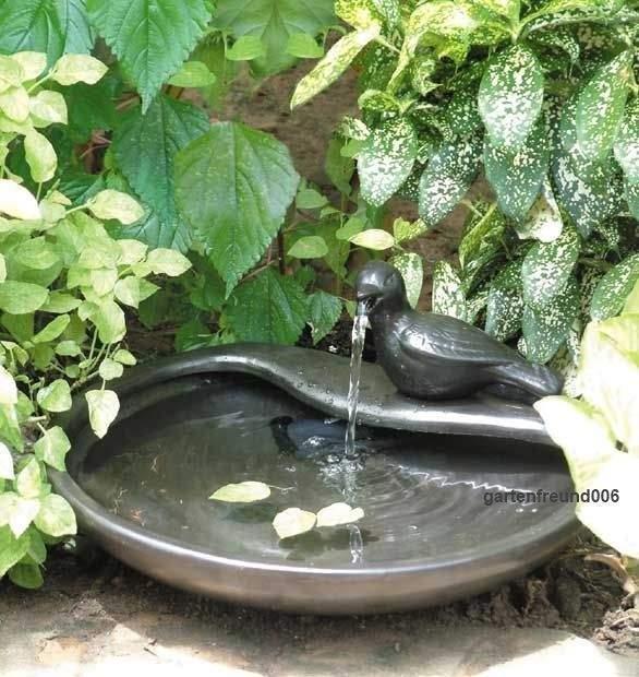 Vogeltränken Für Den Garten Luxus solar Garten Brunnen Für Quellstein