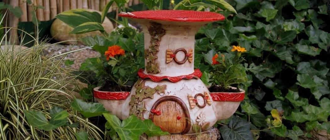 Vogeltränken Für Den Garten Schön Vogelbad Keramik Fleury Keramik Für Haus Und Garten