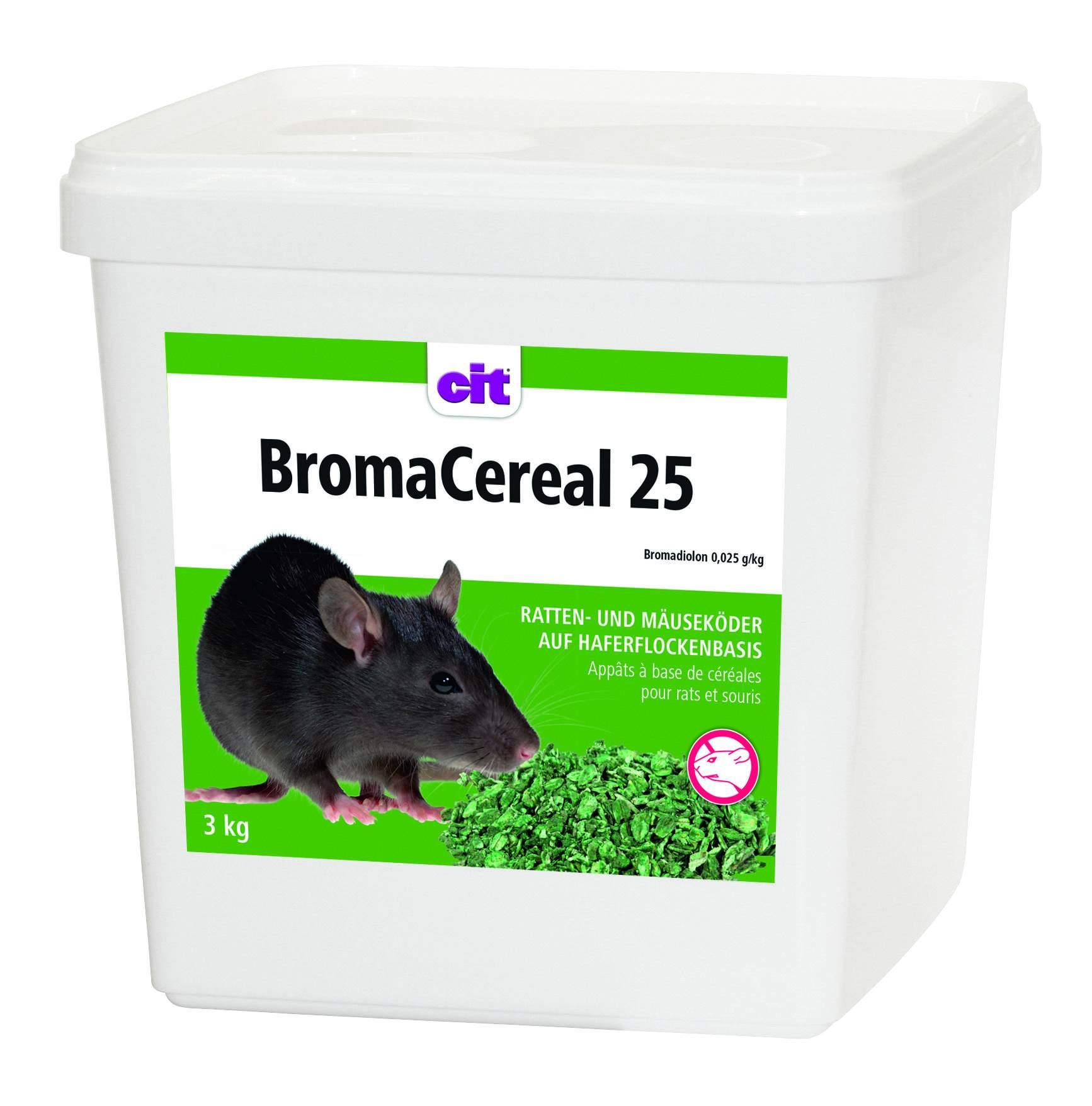 BromaCereal 25 Ratten und Maeusekoeder auf Haferflockenbasis