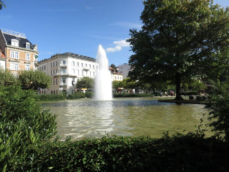 Augustaplatz See Fontaene2 sonnig