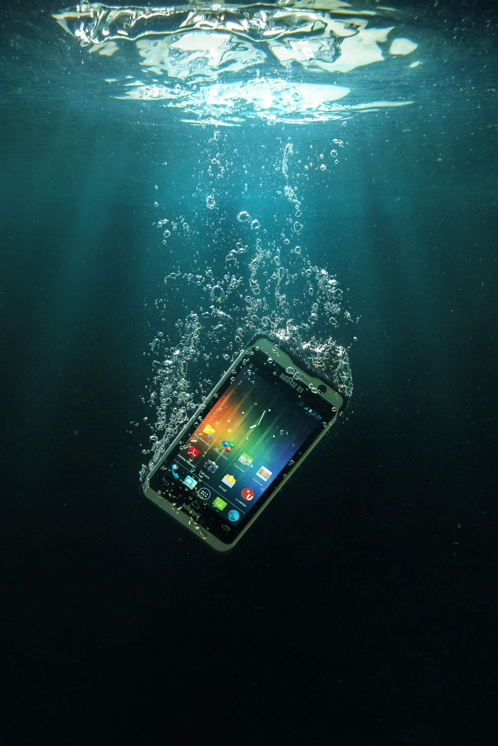 Nautiz X1 ultra rugged smartphone waterproof