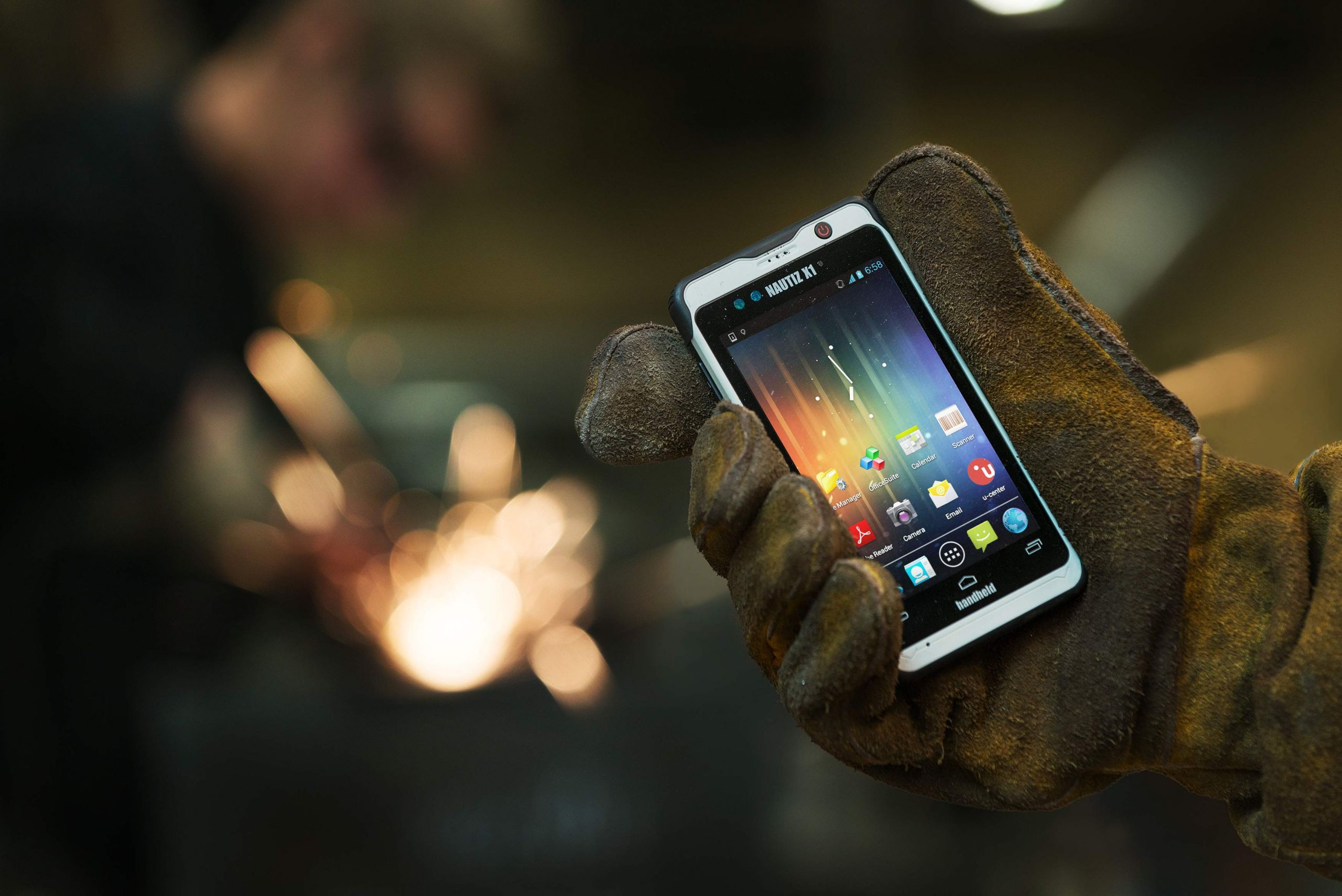 Nautiz X1 ultra rugged enterprise smartphone