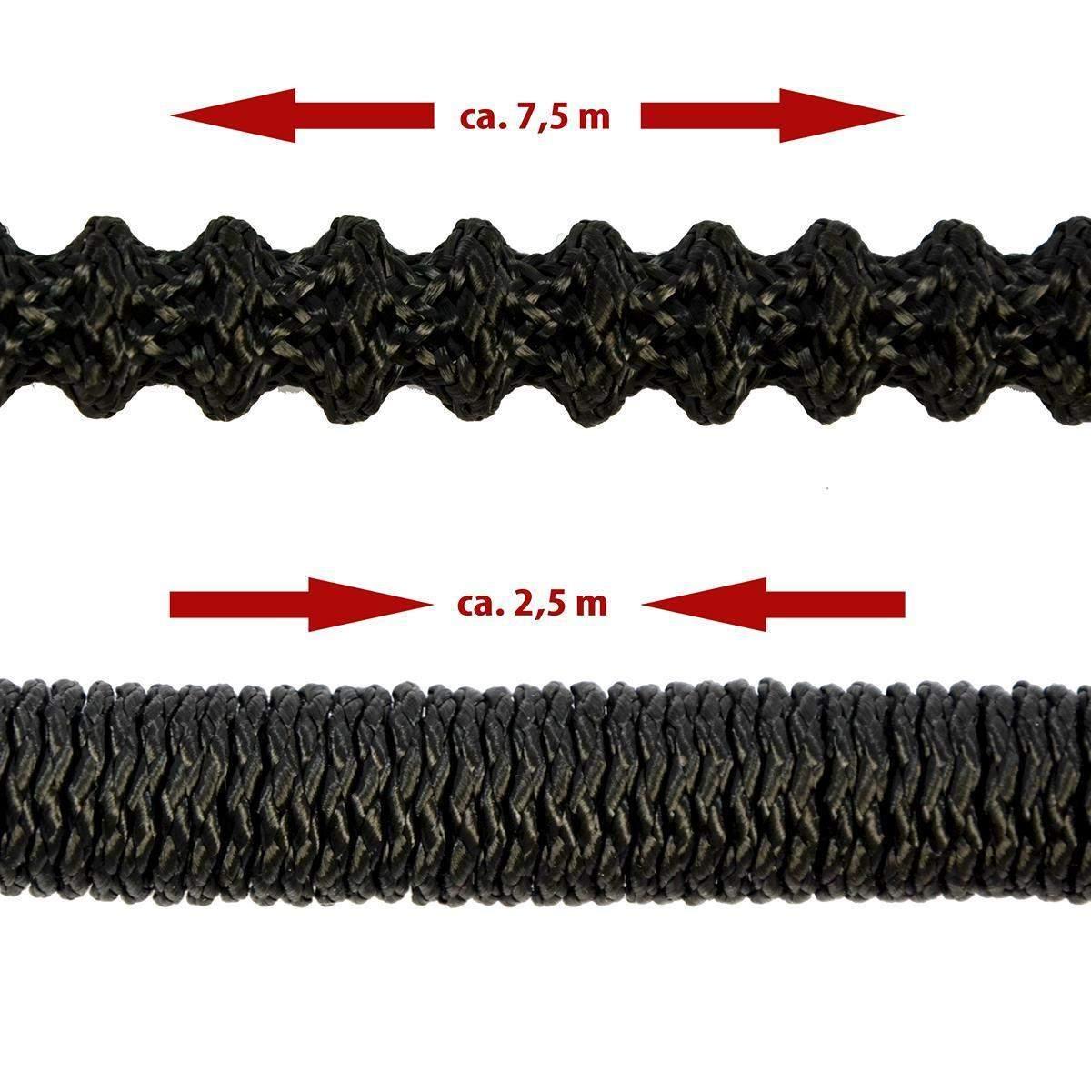 dehnbarer gartenschlauch mit brause 2 5m 7 5m flexibler wasserschlauch a1569f8104f6