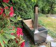 Wasserspiele Garten Edelstahl Luxus soak – Eine Beheizte Außenbadewanne Mit Stil