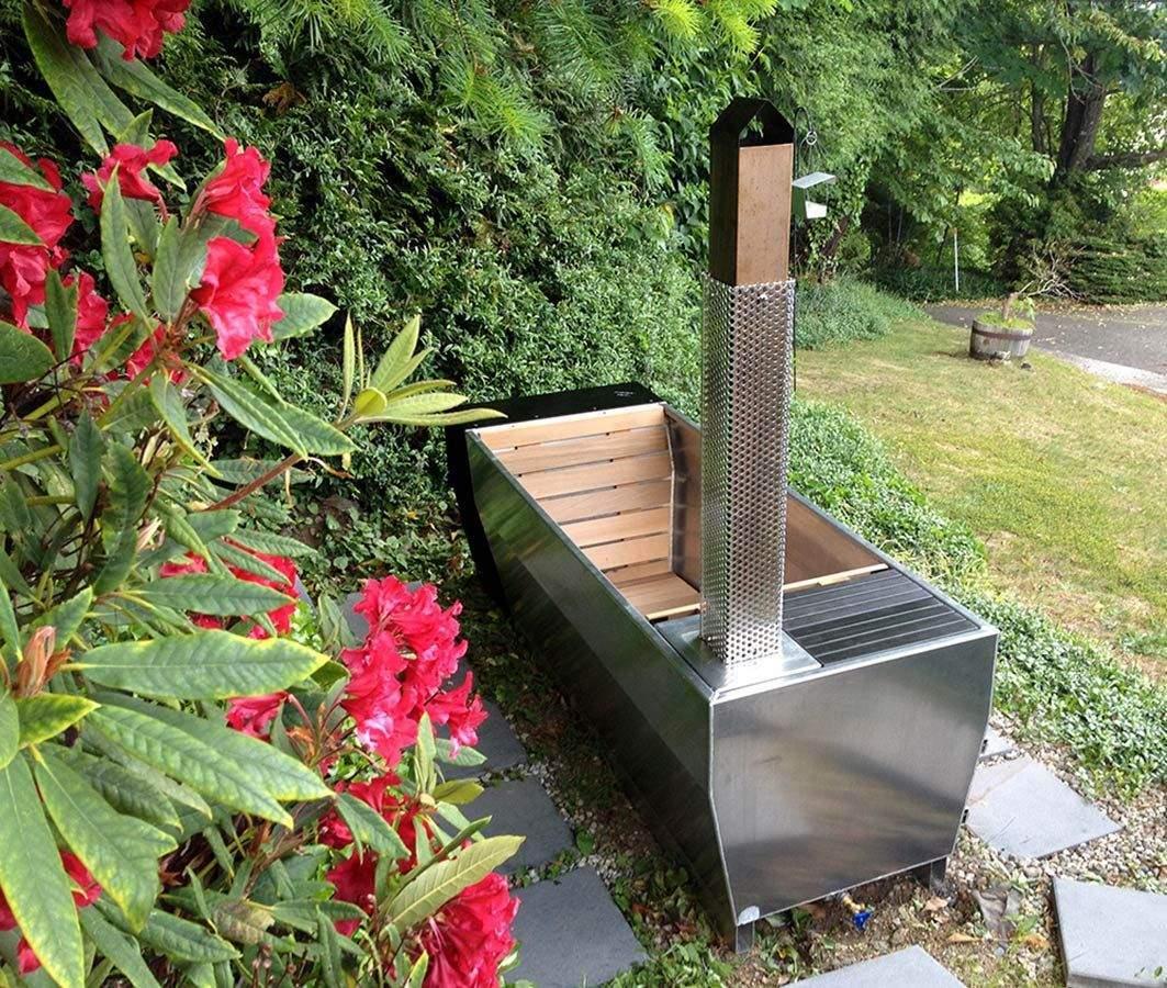 grillplatz im garten selber bauen das beste von soak eine beheizte ausenbadewanne mit stil of grillplatz im garten selber bauen