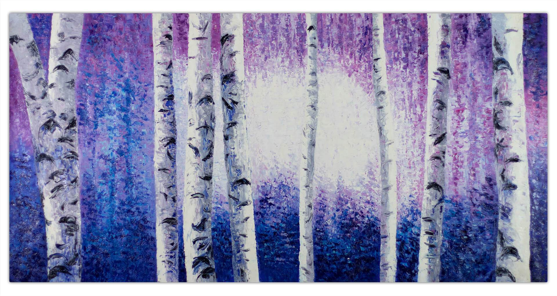 kl baum birke lila blau modern acryl gemaelde oel bild 0001 01