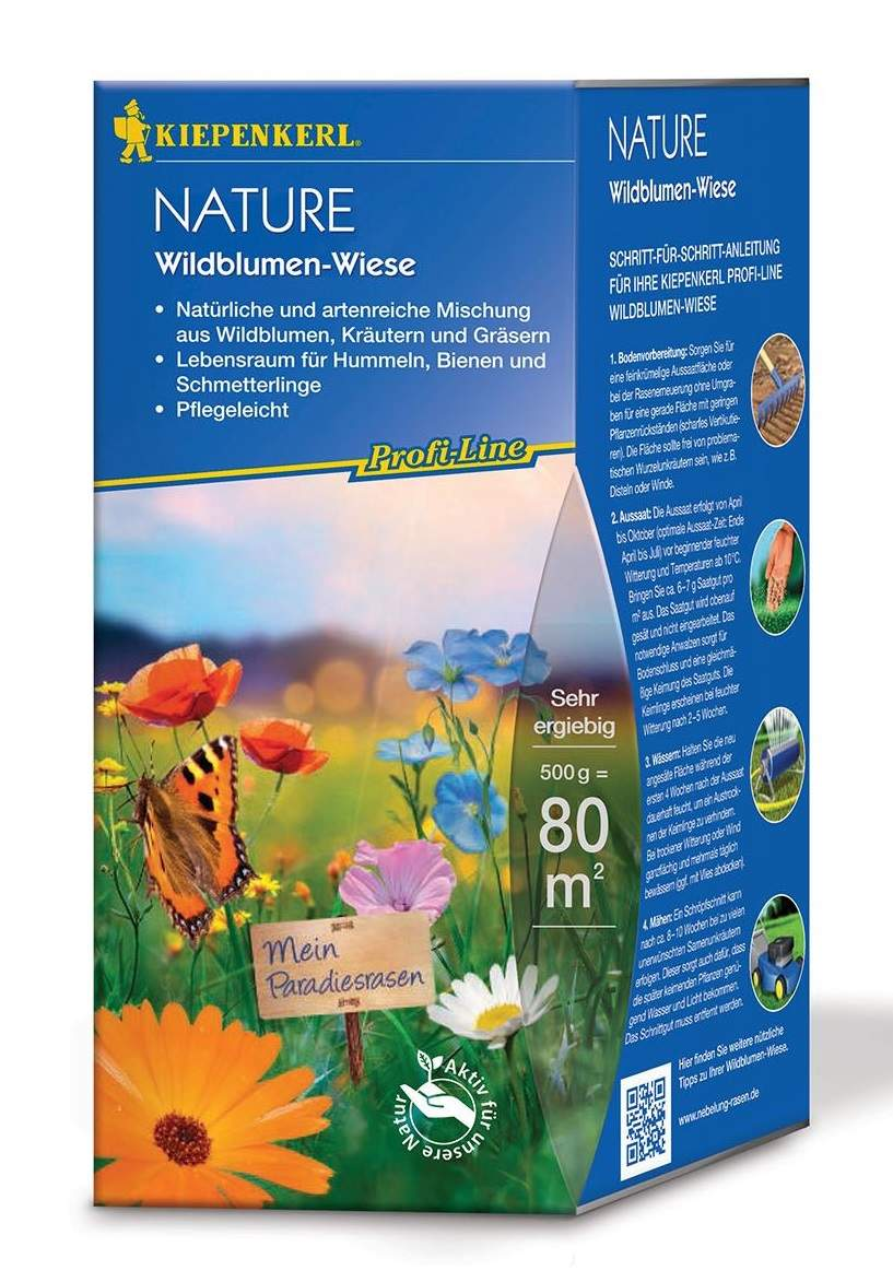 Kiepenkerl Profi Line Nature Wildblumen Wiese 500g