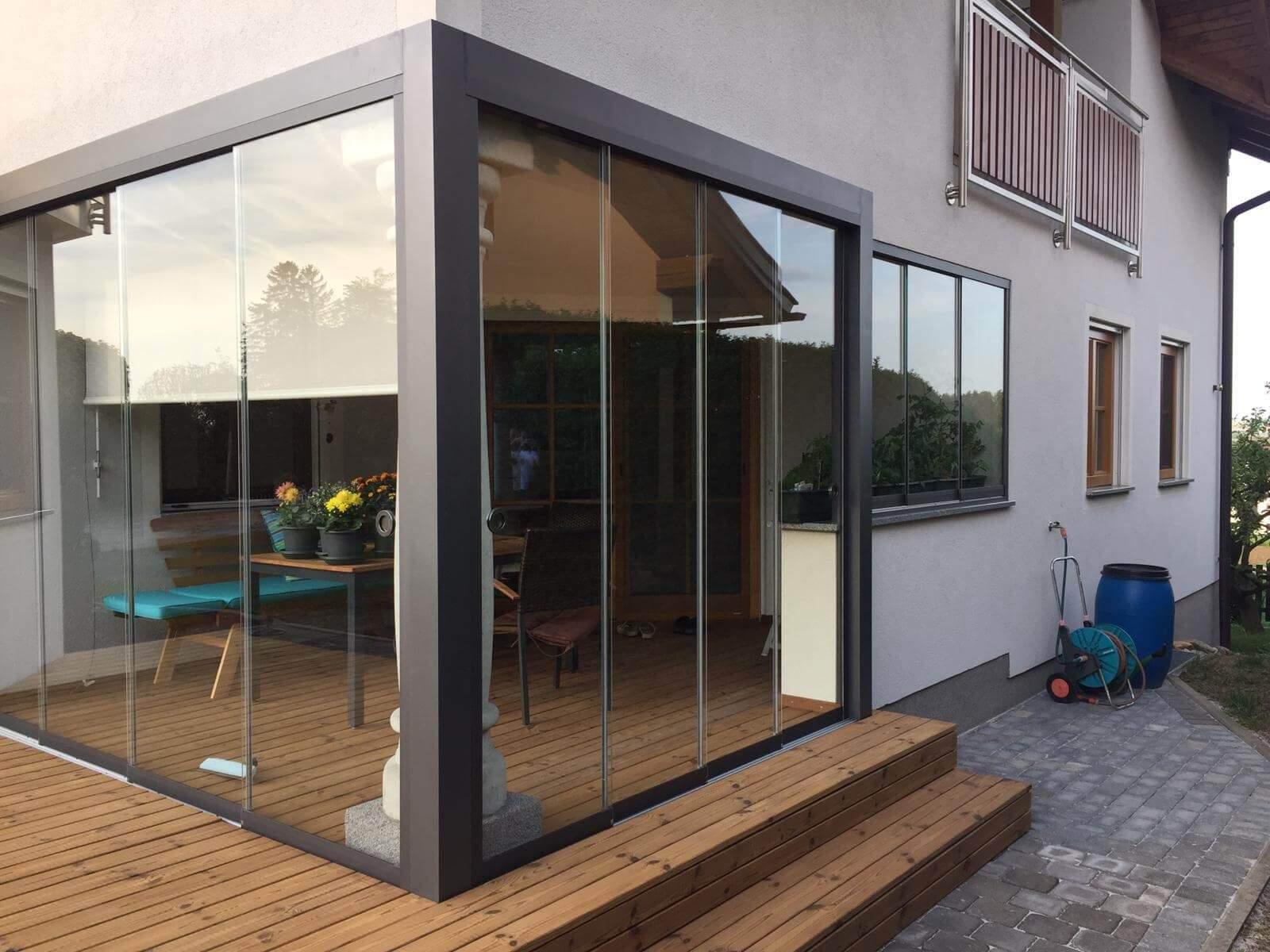 Winter Garten Elegant Glas Schiebetüren Systeme Wintergarten In 2020