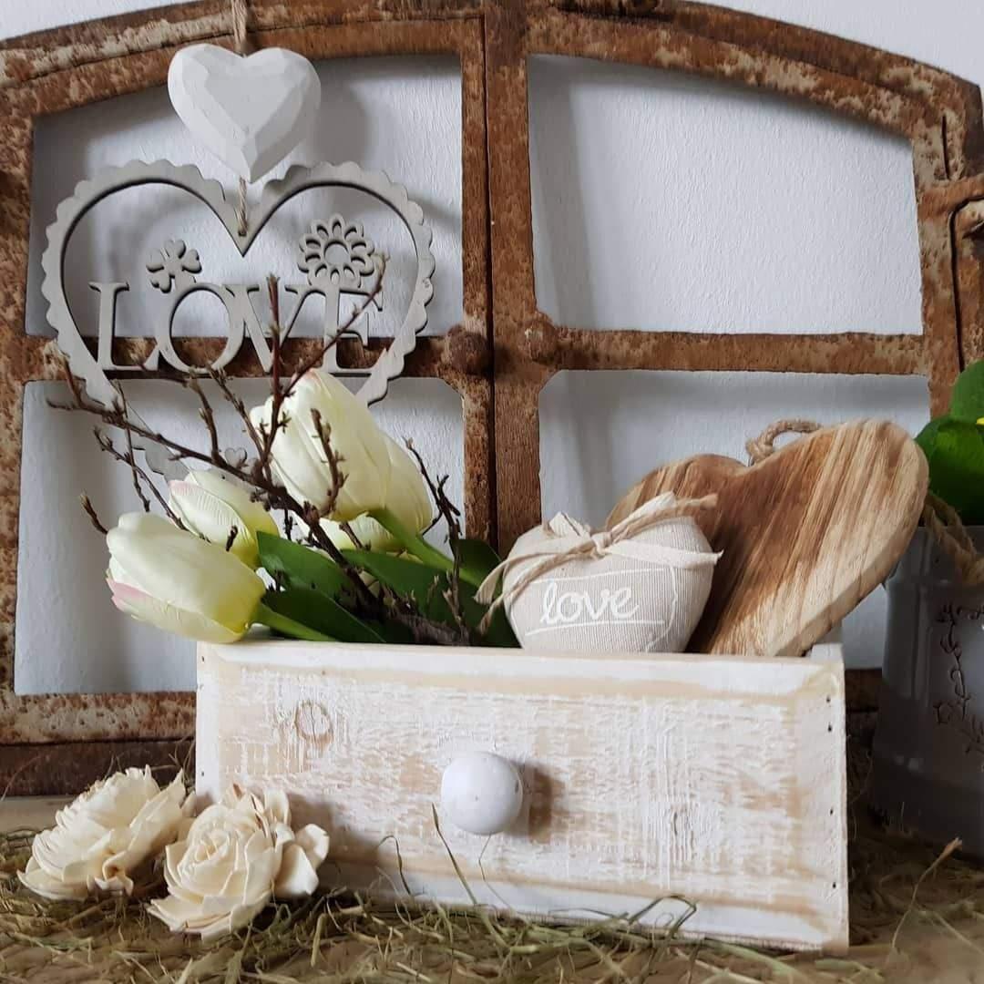 Wohnen Und Garten Landhaus Frisch Pflanzgefäße Schublade Holz Garten Deko Shabby Vintage