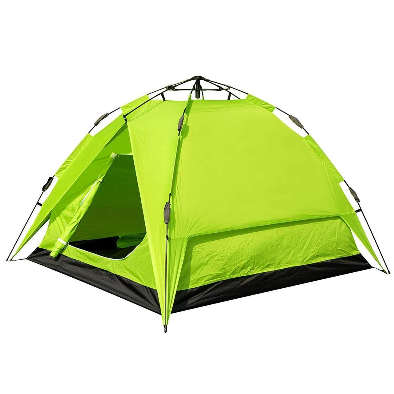 Camping Zelt 2 3 Personen Schnellaufbau mit Quick Up System CPZ8142gn
