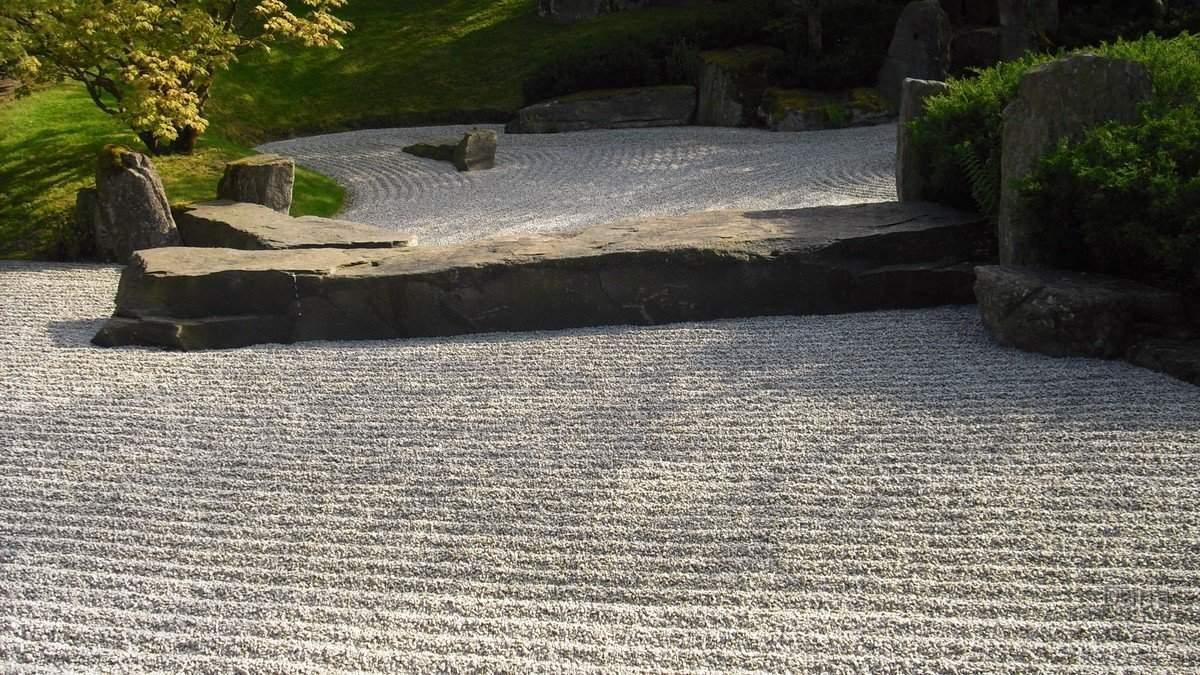 Zen Garten Reizend Zen Steingarten Japanischer Garten Cosirex