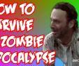 Zombie Garten Das Beste Von How to Survive A Zombie Apocalypse