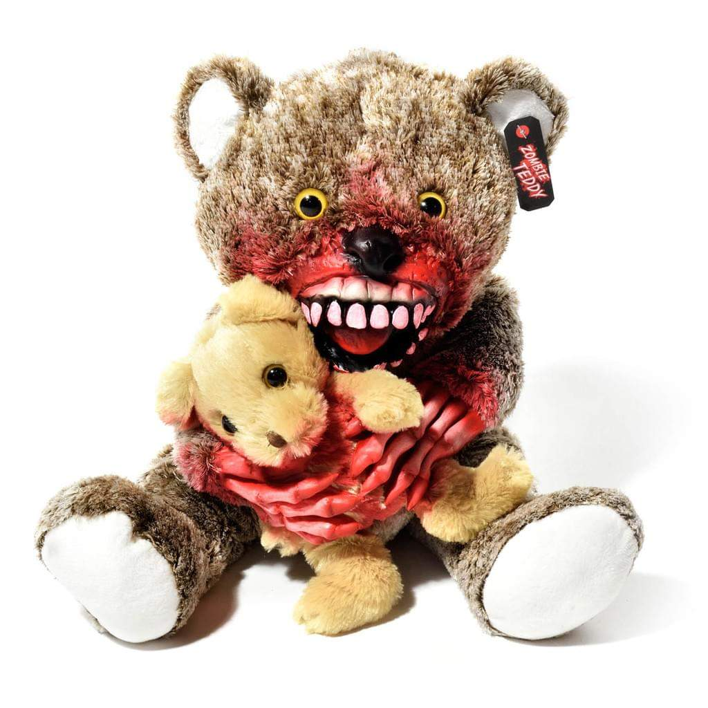 Zombie Garten Das Beste Von original Zombie Teddy Xxl Halloween Teddybär Undead Teds Evolution Für Alle Splatter & Horror Fans Kannibale