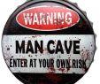 Zombie Garten Genial Blechschild Kronkorken Warning Man Cave