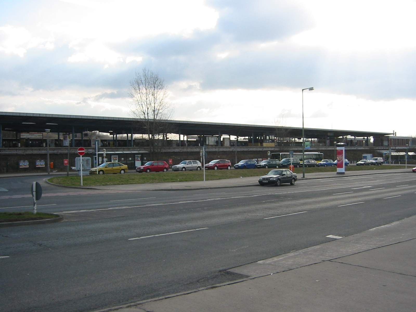 U Bahn Berlin U5 station Wuhletal