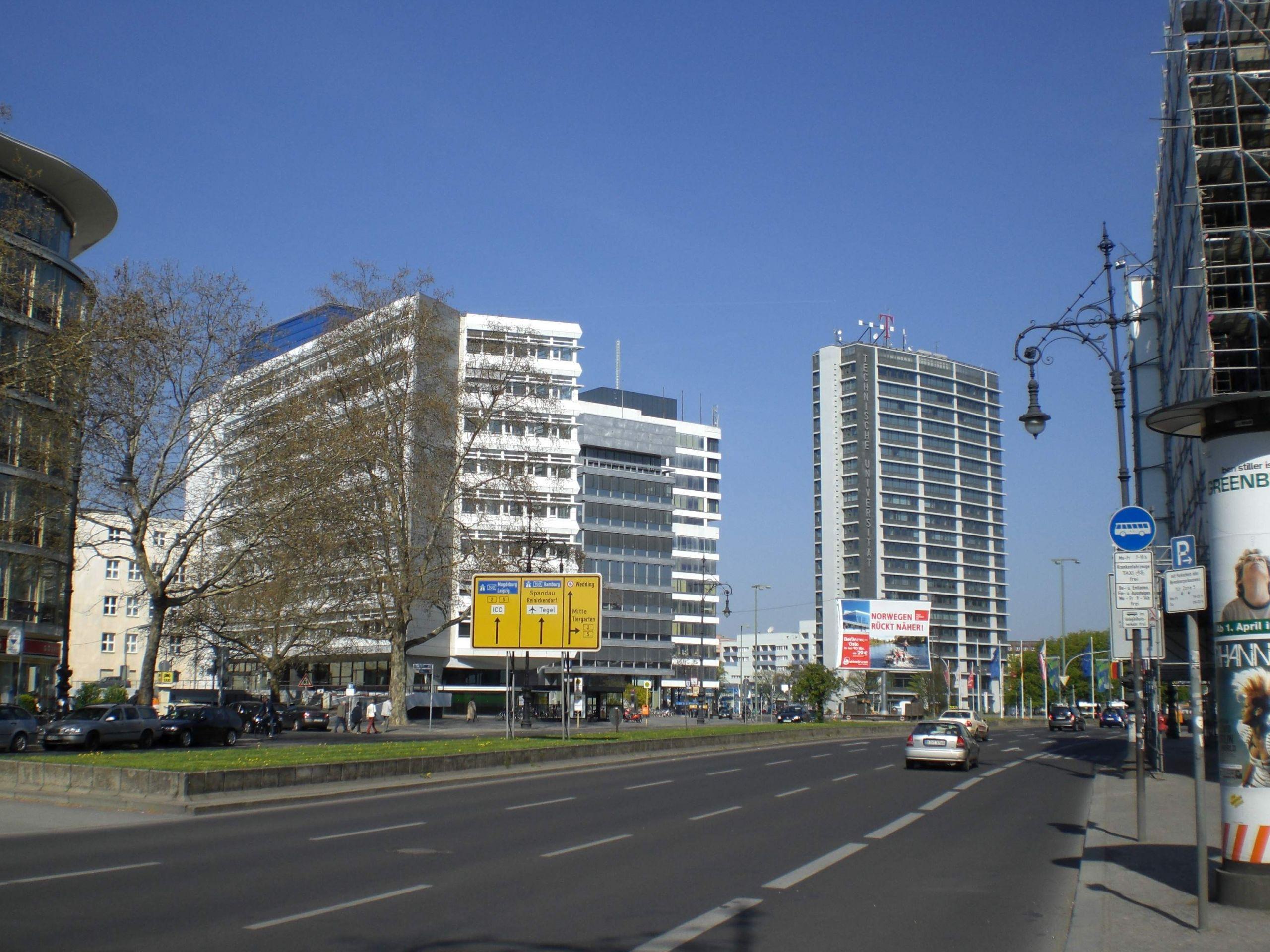 Charlottenburg Hardenbergstraße Ernst Reuter Platz JPG