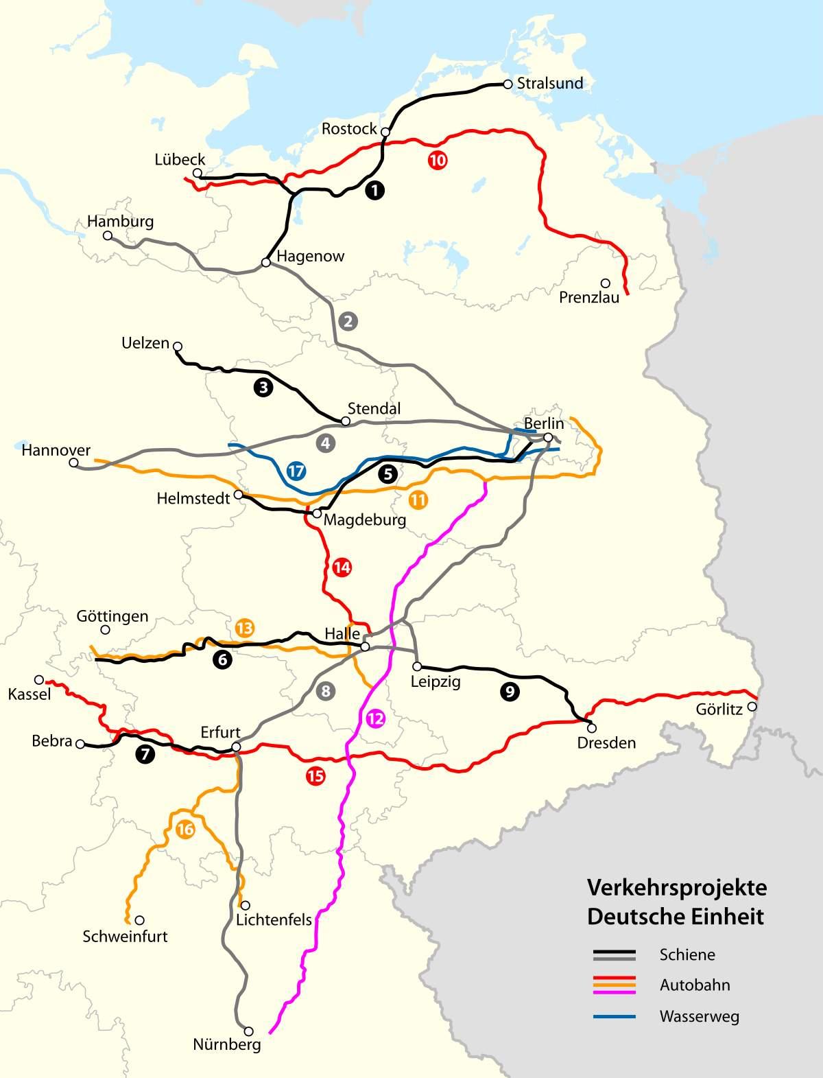 1200px Karte Verkehrsprojekte Deutsche Einheitg