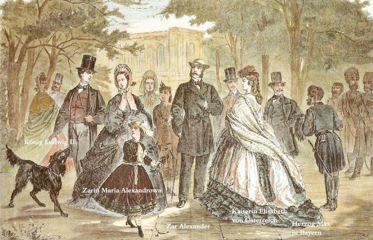 Kissingen Kurgäste 1864